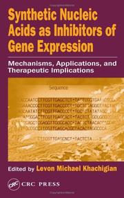 Synthetic Nucleic Acids as Inhibitors of Gene Expression PDF