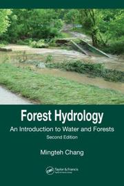 Forest hydrology by Mingteh Chang