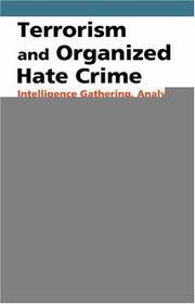 Terrorism and Organized Hate Crime PDF