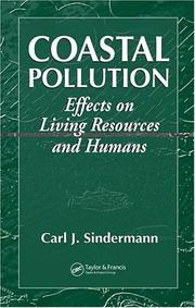 Coastal pollution by Carl J. Sindermann