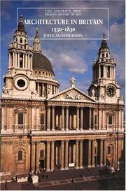 Architecture in Britain, 1530 to 1830 by Summerson, John Newenham Sir