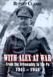 With Alex at war by Rupert Clarke