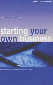 The Which? Guide to Starting Your Own Business (Which? Consumer Guides) PDF