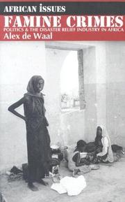 Famine Crimes by Alex de Waal