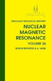 Nuclear Magnetic Resonance by Graham A. Webb