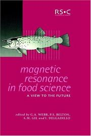 Magnetic resonance in food science by International Conference on Applications of Magnetic Resonance in Food Science (5th 2000 University of Aveiro, Portugal)