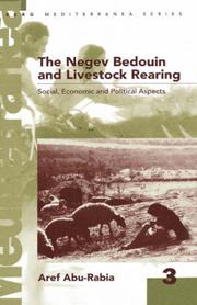 The Negev bedouin and livestock rearing PDF