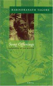 Cover of: Song offerings (Gitanjali) by Rabindranath Tagore