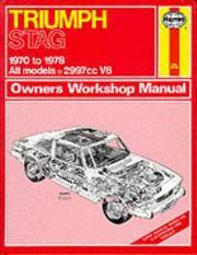 Triumph Stag Owner's Workshop Manual PDF