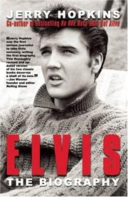 Elvis by Jerry Hopkins