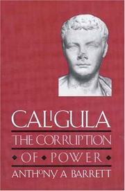 Caligula by Anthony A. Barrett
