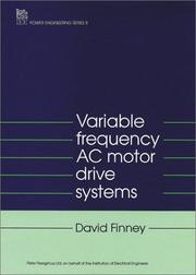 Variable frequency AC motor drive systems by David Finney