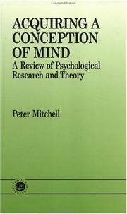 Acquiring A Conception Of Mind PDF