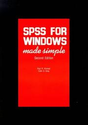 SPSS FOR WINDOWS MADE SIMPLE PDF