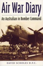 Air war diary by David Scholes