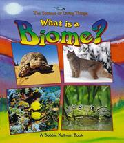 What is a biome? by Bobbie Kalman