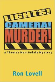 Lights! camera! murder! by Ronald P. Lovell