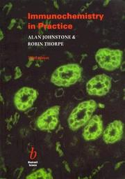 Immunochemistry in practice by Alan Johnstone