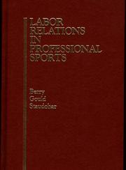 Labor relations in professional sports by Robert C. Berry