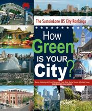 How Green Is Your City? The SustainLane U.S. City Rankings PDF
