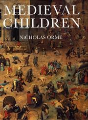 Medieval Children by Nicholas Orme