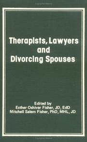 Therapists, Lawyers and Divorcing Spouses (Journal of Divorce) (Journal of Divorce) PDF