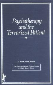 Psychotherapy and the Terrorized Patient (Research on Homosexuality) (Research on Homosexuality) PDF