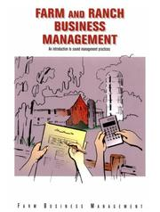 Farm & ranch business management by Jim Steward