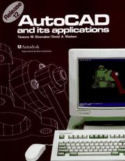 AutoCAD and its applications by Terence M. Shumaker