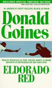 Eldorado Red by Donald Goines
