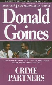 Crime Partners by Donald Goines