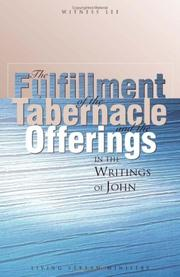 The fulfillment of the tabernacle and the offerings in the writings of John PDF