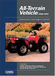 All-terrain vehicle 1988-1992