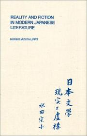 Reality and fiction in modern Japanese literature PDF