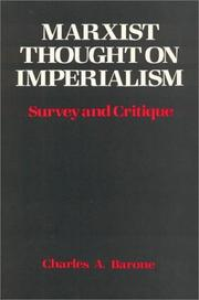 Marxist thought on imperialism PDF