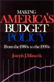 Making America's budget policy PDF