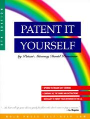 Patent it yourself by David Pressman