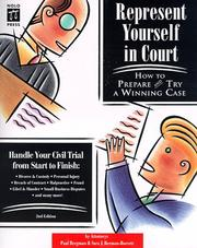 Represent yourself in court PDF