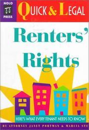 Renter's Rights PDF