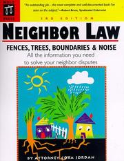 Neighbor law by Cora Jordan