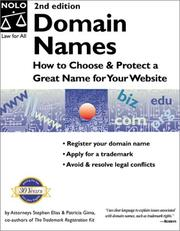 Domain names by Stephen Elias