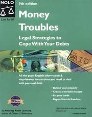 Money troubles by Robin Leonard