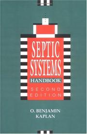 Septic systems handbook by O. Benjamin Kaplan