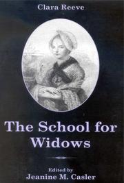 The school for widows by Clara Reeve