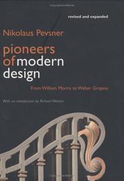 Pioneers of Modern Design PDF