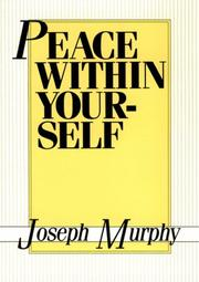 Peace Within Yourself PDF