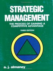 Strategic Management by A. J. Almaney