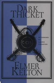 Dark thicket by Elmer Kelton