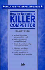 How to Become a Killer Competitor (Help for the Small Business) PDF