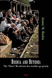 Bosnia And Beyond by Jeanne M. Haskin